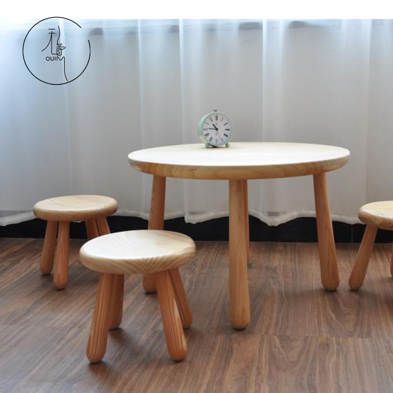 usd 158 77 solid wood child tables and chairs sets small round