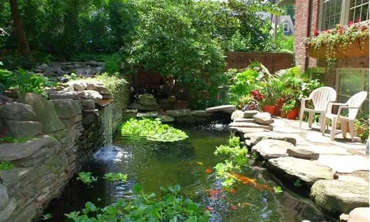 花園DIY,動手製作一個簡易小池塘吧~ - 淘寶海外