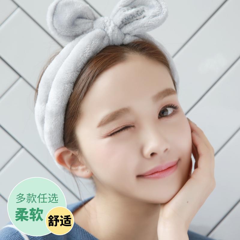 韩版简约发箍头饰洗脸发带