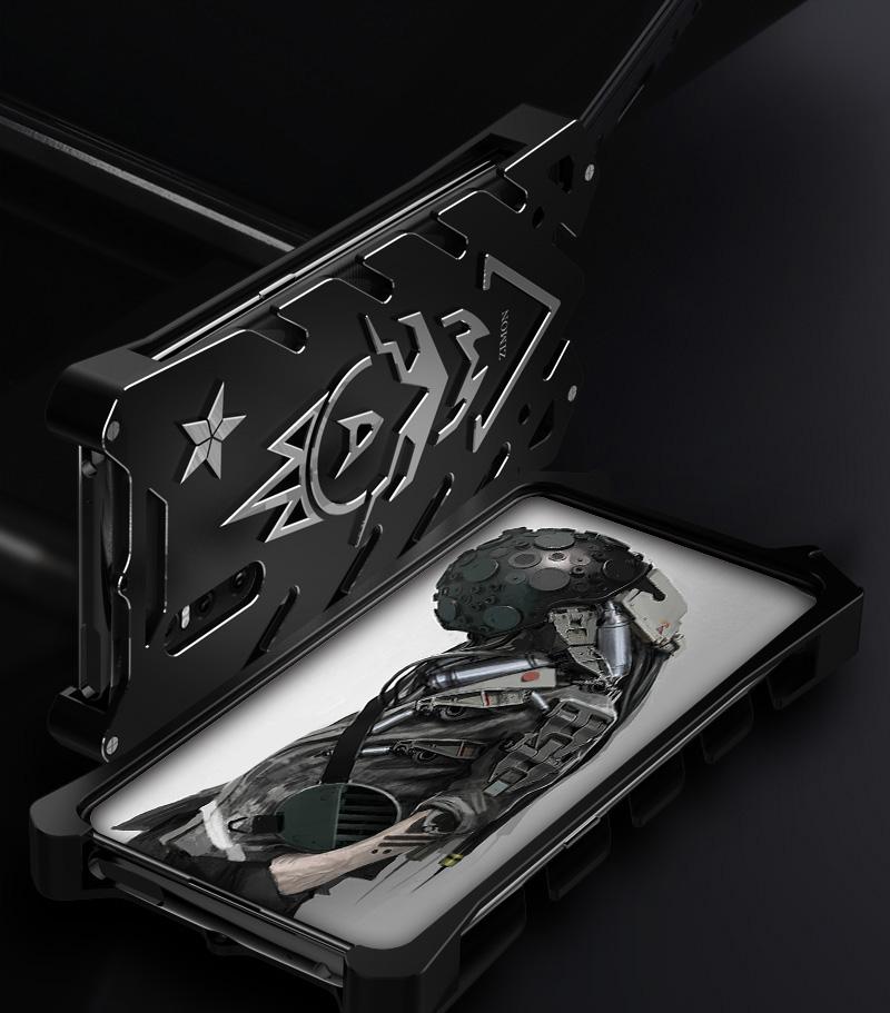 SIMON New THOR II Aviation Aluminum Alloy Shockproof Armor Metal Case Cover for vivo X27