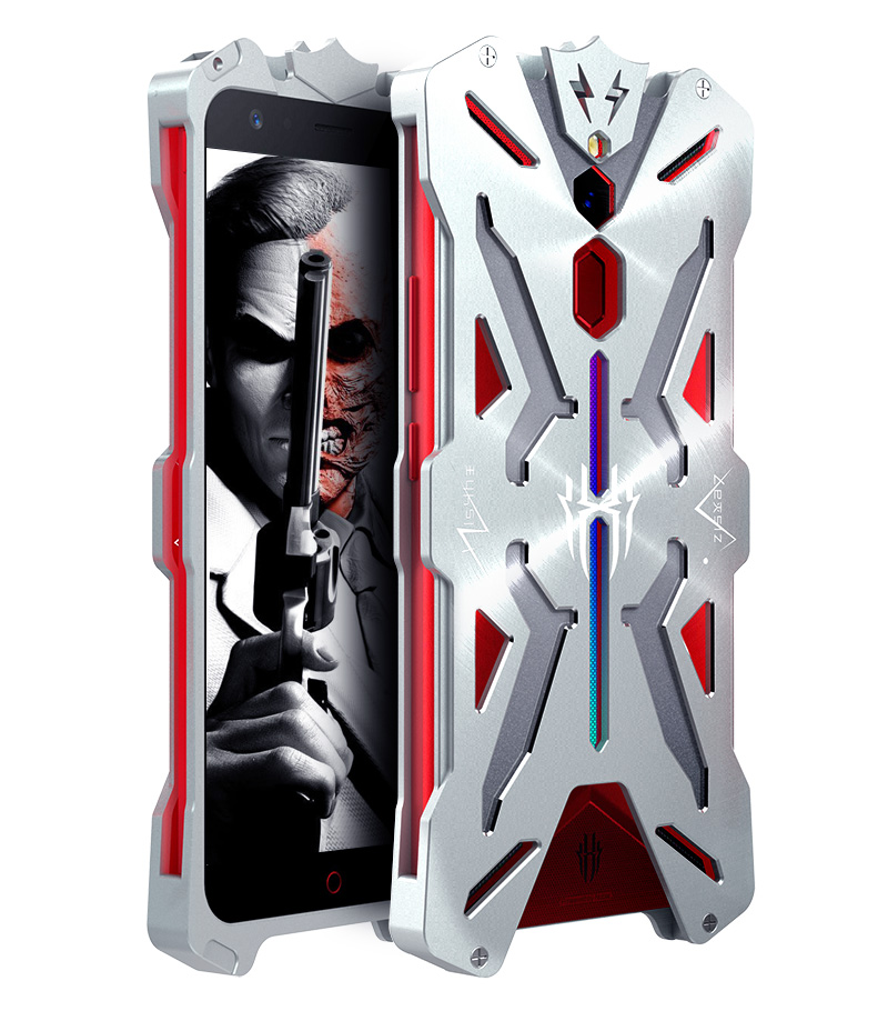 SIMON THOR Aviation Aluminum Alloy Shockproof Armor Metal Case Cover for nubia Red Magic Mars & nubia Red Magic