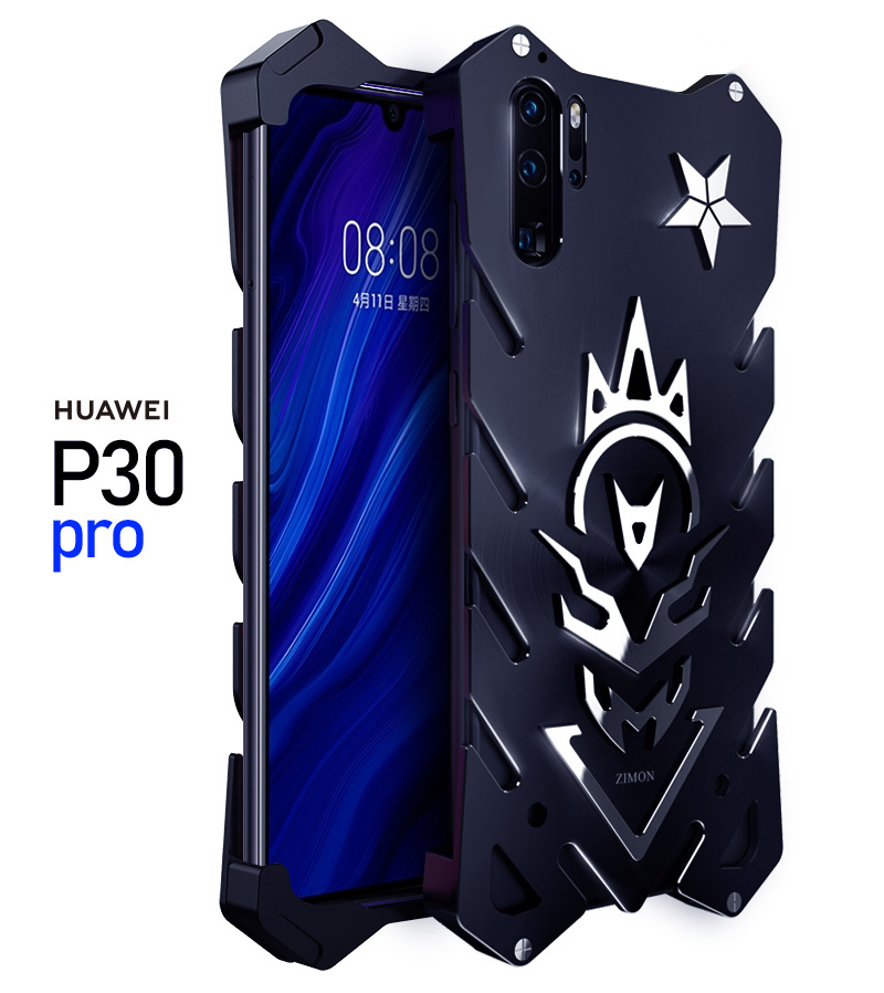 SIMON New THOR II Aviation Aluminum Alloy Shockproof Armor Metal Case Cover for Huawei P30 Pro & Huawei P30