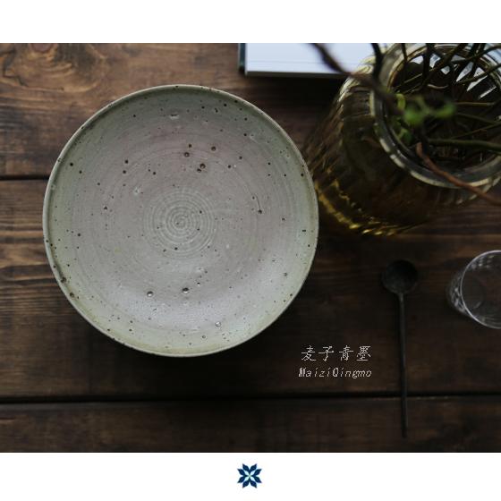 Тарелка Wheat green ink