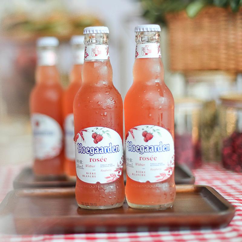 福佳 比利時風味玫瑰紅精釀果啤酒 248mlx6瓶