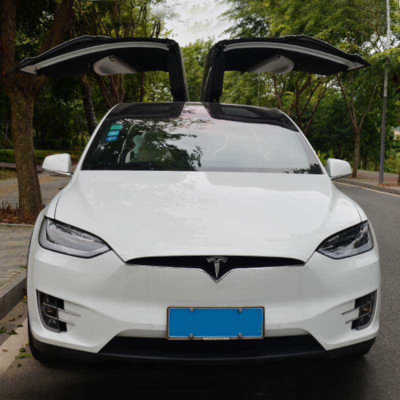 USD 18.43] Tesla Model S X stainless steel license plate frame new ...