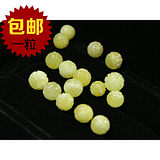 Original mine grinding DIY8.5-9mm Natural amber new wax wax small dragon ball beads beads no optimization