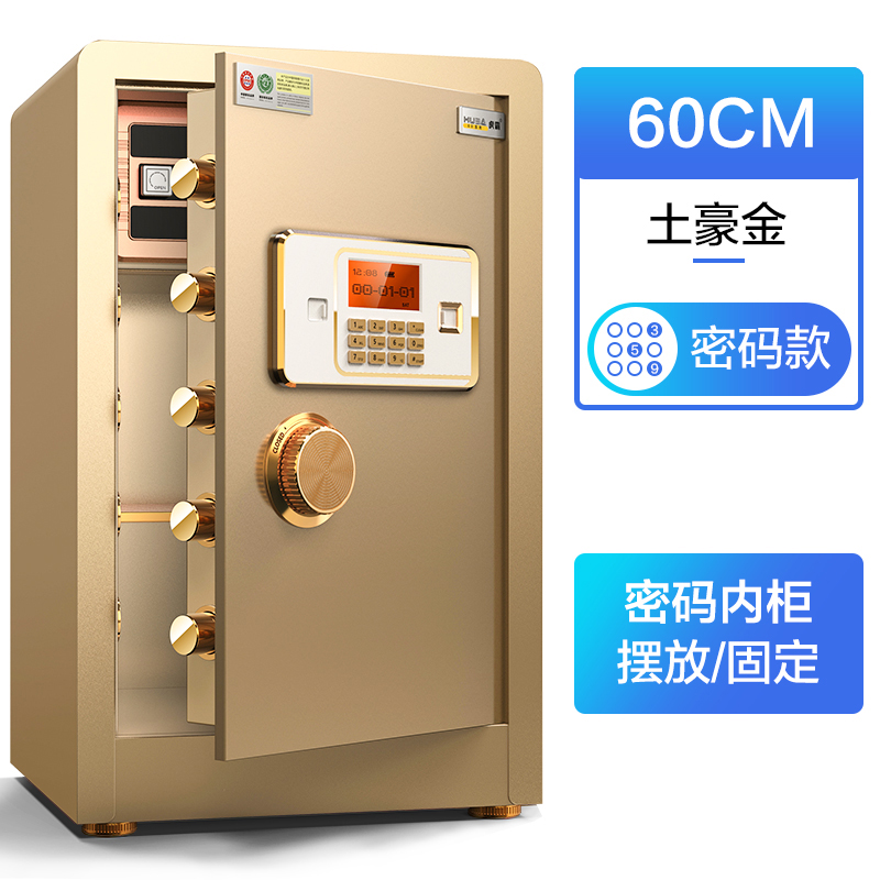 TYPE 60 LOCAL GOLD - PASSWORD (PASSWORD INSIDE CABINET)