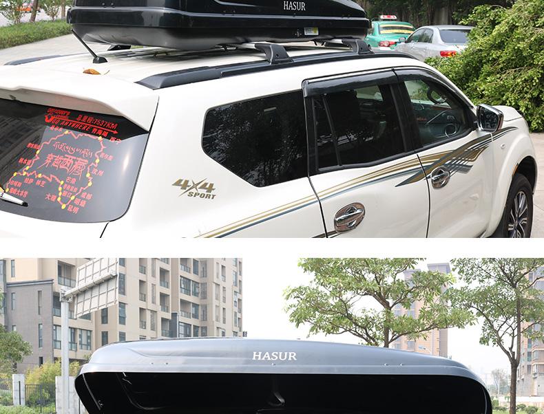 Thùng đựng đồ và giá nóc xe Nissan Terra 2018 - ảnh 30