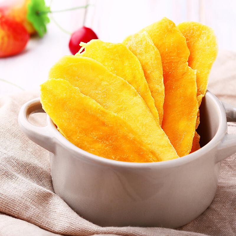 亨利摩根 芒果干120g泰国进口水果干果脯蜜饯孕妇办公室休闲零食