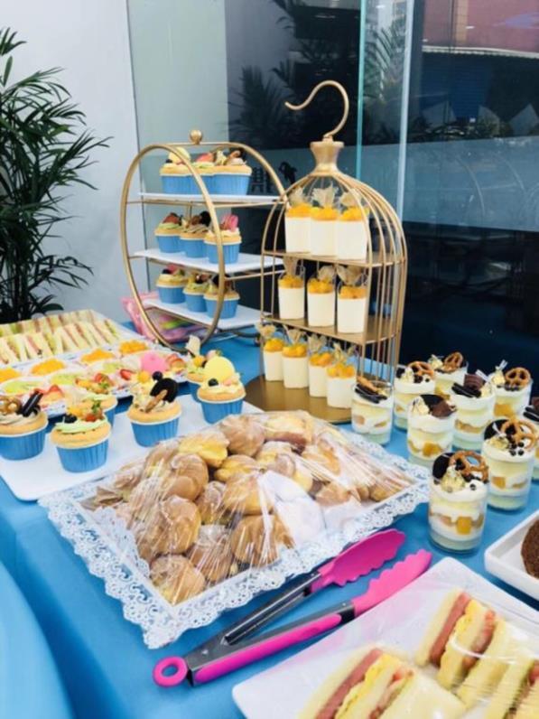 会甜品蛋糕架百日展示架宝宝烘焙毕业季甜品台架子结婚装扮场景塔