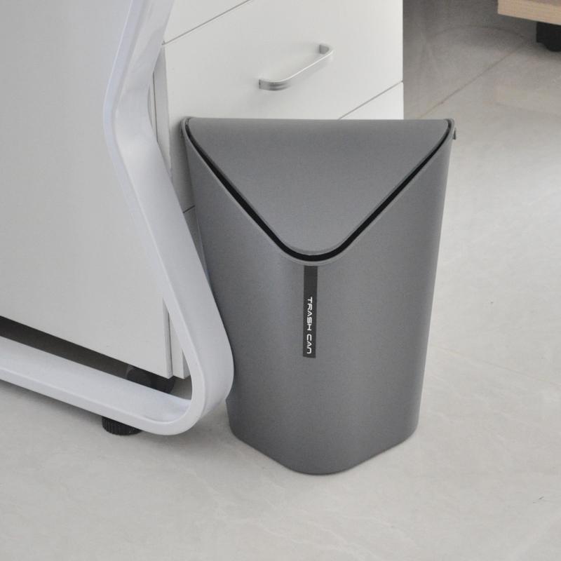 垃圾桶家用客厅卧室厨房卫生间办公室大号创意有带盖塑料小垃圾筒