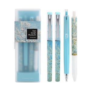 晨光梵高博物馆系列直液式中性笔套装学生书写文具考试高密度中性笔HAGP1095