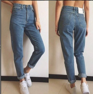 2018Fashion elastic jeans women leggings ladies jeans pants