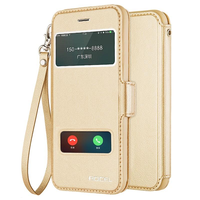 苹果4S手机壳iphone5平果五代翻盖皮套ip5S爱疯5超薄保护套软送膜