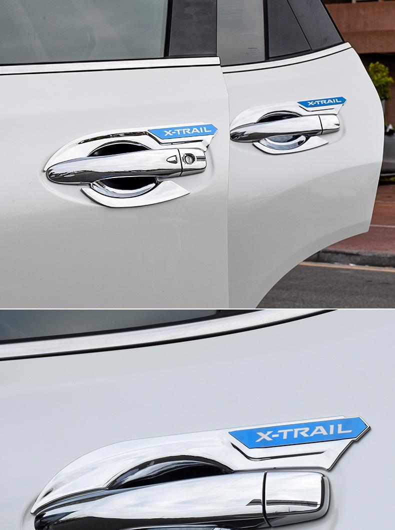 Ốp hõm và tay nắm cửa ngoài Nissan Xtrail 2014-2019 - ảnh 12