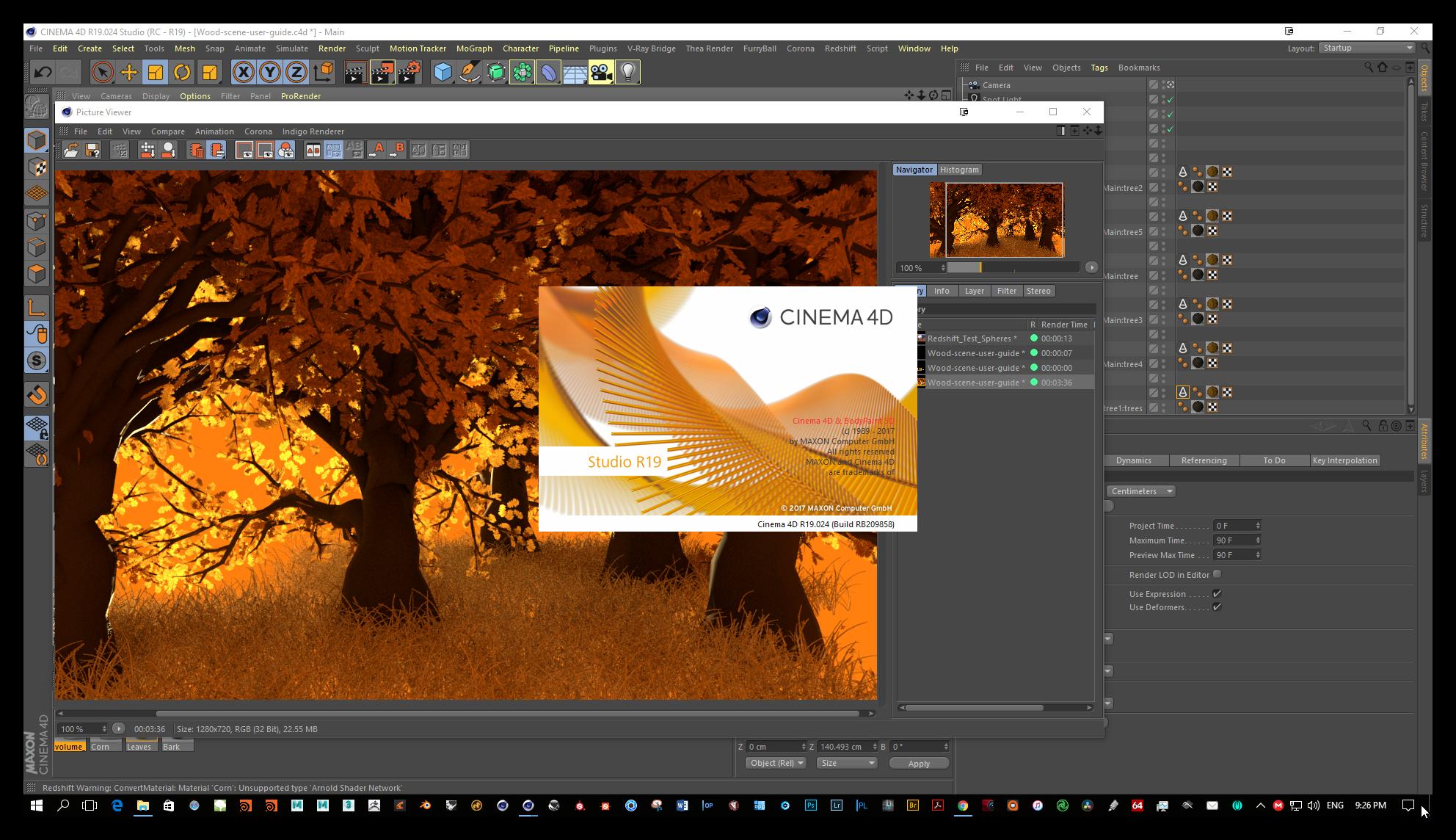 Win/Mac版-C4D R19三维软件Maxon CINEMA 4D Studio R19.053  中文版/英文版/破解版(含序列号+安装教程) 免费下载