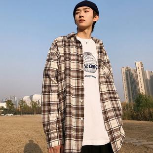 2019春季新款韩版宽松学生百搭帅气衬衣