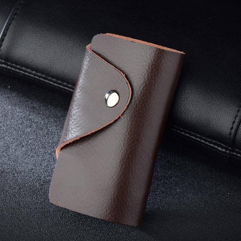 新品代灵电商牛皮销售在线年春夏商务钥匙包简约男女多功能锁匙扣