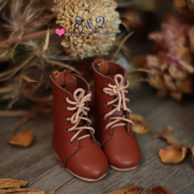 taobao agent Leather handmade boots BJD YOSD IMDA3.0 1/6 1/4 giant baby MSD MDD card meat SOO