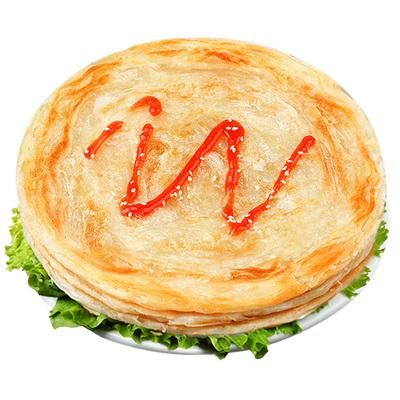 手抓饼原味家庭装早餐食品速食正宗面饼皮家用煎饼正品旗舰店包邮