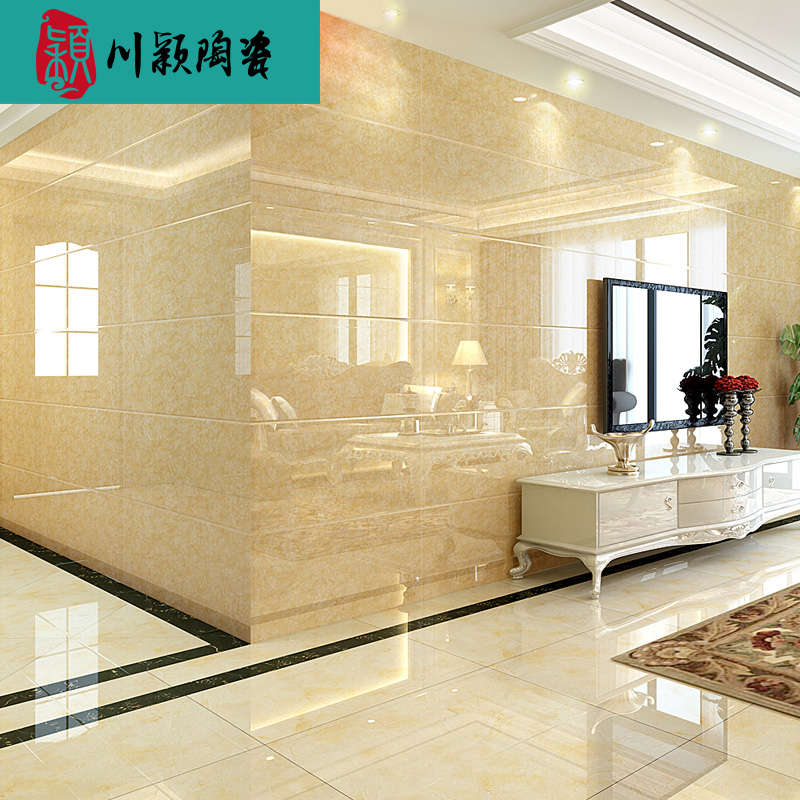 Chuan Ying ceramic modern minimalist tile living room background ...