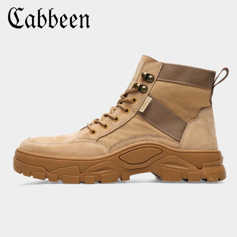 Cabbeen 卡宾 男式马丁靴 沙漠工装鞋 天猫优惠券折后¥139包邮(¥339-200)多款多色可选
