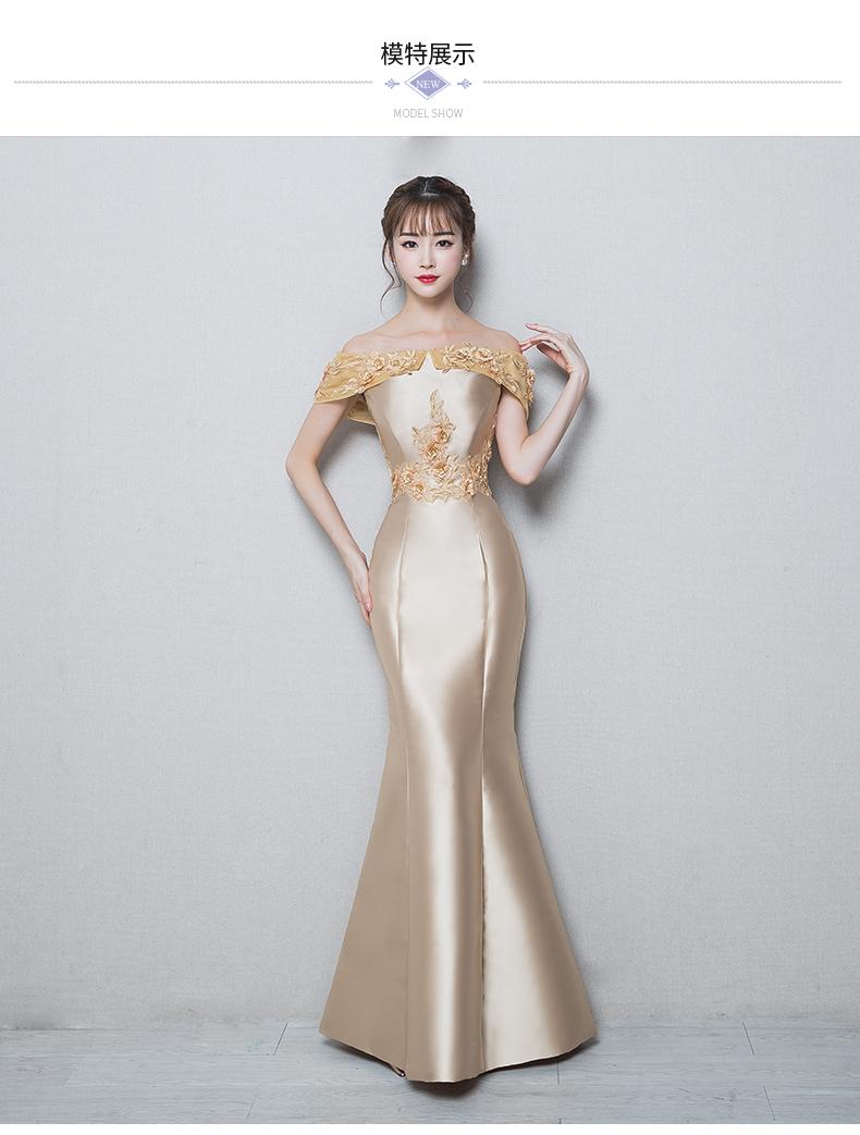 高贵优雅时尚长款聚会派对礼服 - 1505147909 - 太阳的博客
