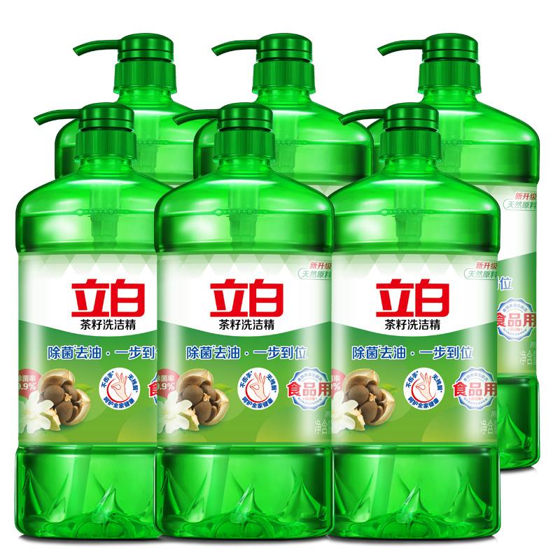 立白除菌茶籽洗洁精12斤