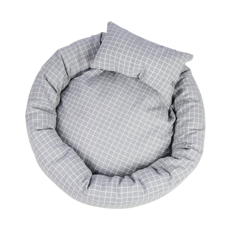 [upgraded Light Gray Lattice] Collection Plus Purchase (send Pillow)