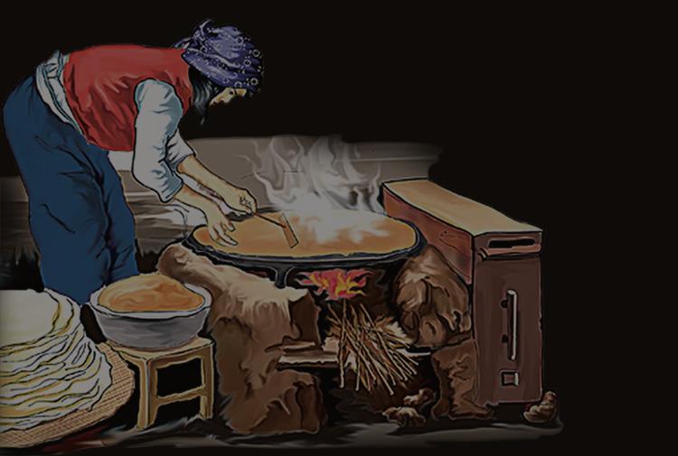 煎饼山东特产曲阜香酥煎饼正宗农家手工夹馅煎饼礼盒装包邮详细照片