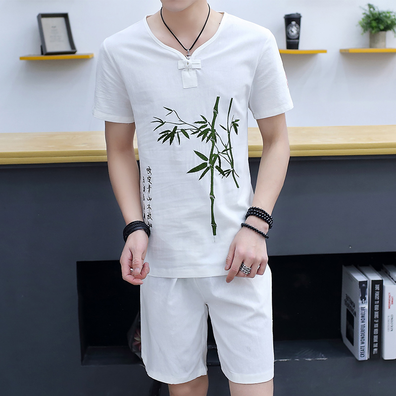 Bamboo White (short Suit)