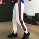 Guochao ins quần siêu lửa nam phiên bản Hàn Quốc của thương hiệu thời trang lỏng lẻo hợp thời trang hiphop hip-hop quần ống rộng - Quần mỏng