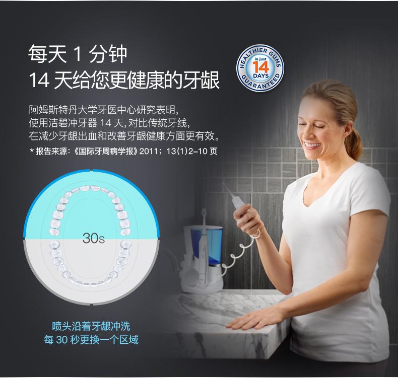 冲牙器水牙线洗牙器家用带电动牙刷