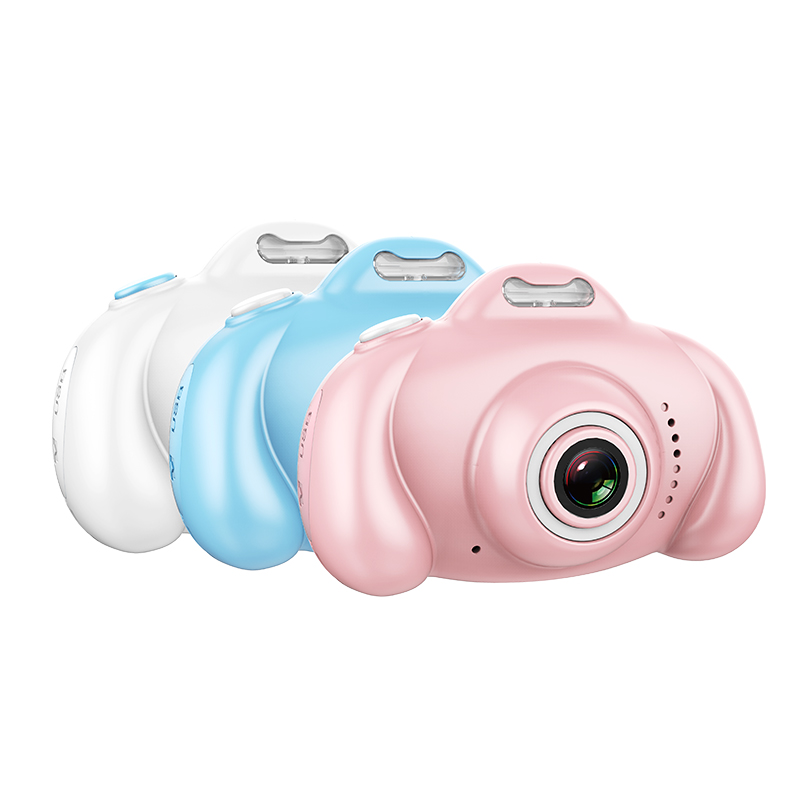 儿童数码照相机玩具1600万可拍照宝宝卡通迷你1200小单反生日礼物_领取150元淘宝优惠券