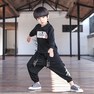 Boys Tang Suit for Kids BoysHanfu children Tang Costume Baby spring Chinese children clothing children national style clothing Chinese style retro Costume