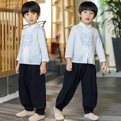 Boys' Hanfu, children's national wind, children's wear, children's antique costume, Chinese costume.