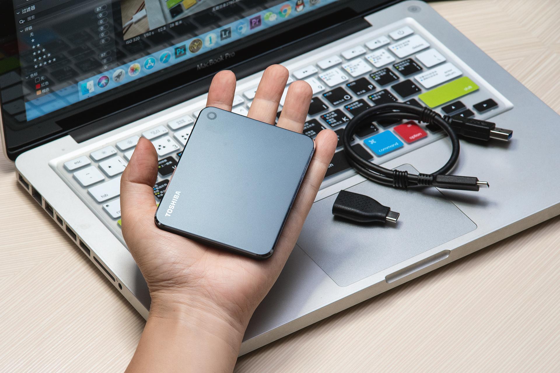 高效率便携的办公助手!东芝移动固态硬盘