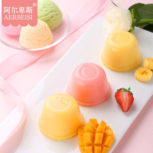 阿尔卑斯 冰淇淋布丁 3个*3件 双重优惠折后¥15.9包邮(拍3件)