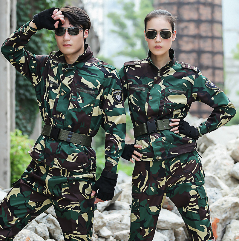 Spring and Summer military uniform special forces camouflage suit