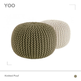 Hand Knit Beanie futon chair stools shoot props decoration accessories pedal sofa cushion YOOWOW