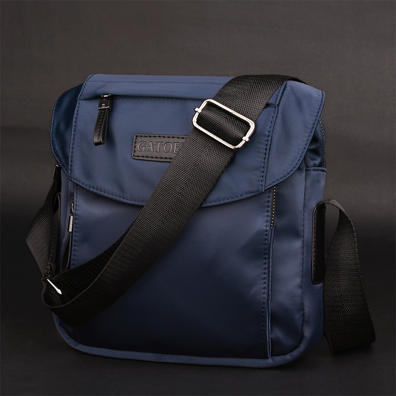 61c435a69dc6 Diagonal casual shoulder bag Korean nylon backpack male bag men canvas  Oxford spinning Messenger bag sports