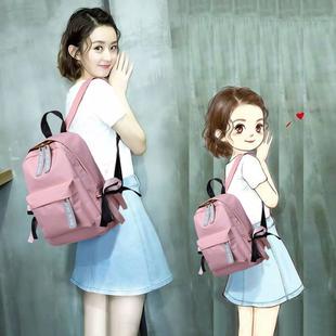 双肩包女韩版时尚百搭个性休闲包包