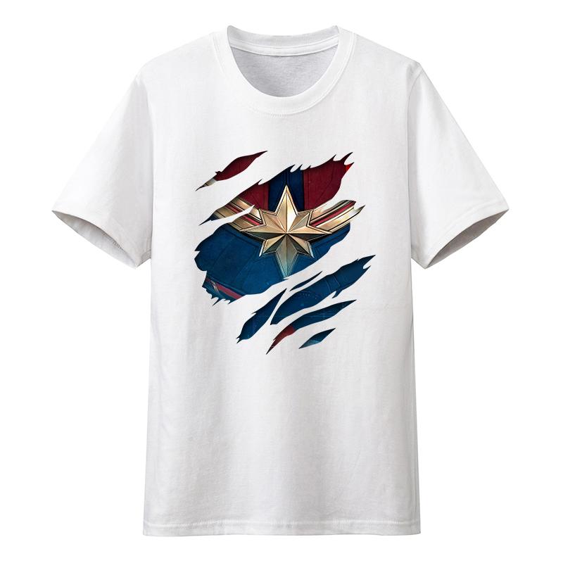 漫威联名复仇者联盟十周年T恤纯棉