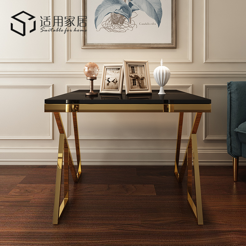 Stainless steel small tea table edge a few sitting rooms sofa edge a few modern and contracted small tea table post-modern light luxury northern Europe