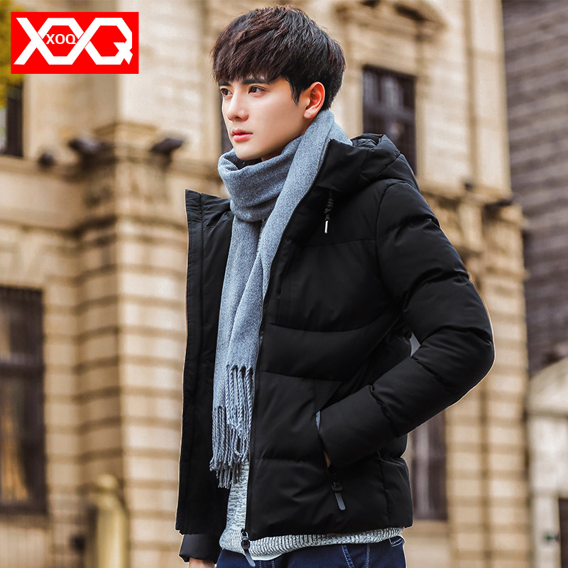 Cotton jackets men's winter jacket 2019 new Korean version of the trend down jacket student Tide brand thickened cotton clothes