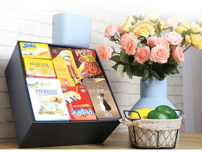 抖音零食大礼包进口组合,送女友生日礼物