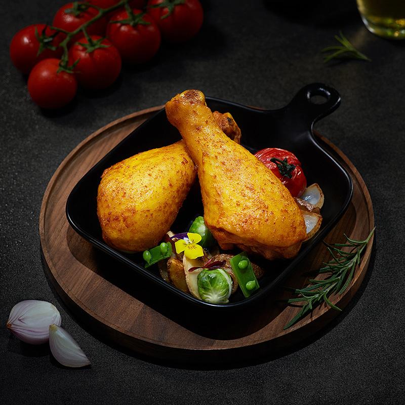 凤祥食品风味鸡腿鸡熟食开袋即食