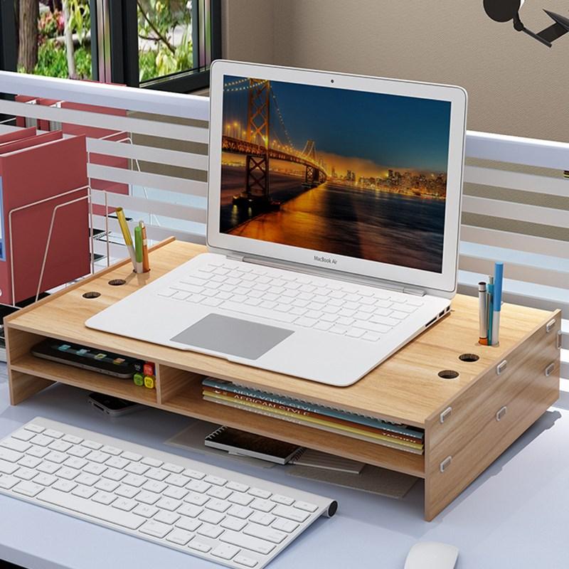 文件柜小柜子首饰杂物箱竹编储物箱桌面显示器架电脑v柜子盒