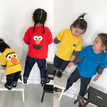 2018 Autumn building new baby boys and girls cute sesame three colors
