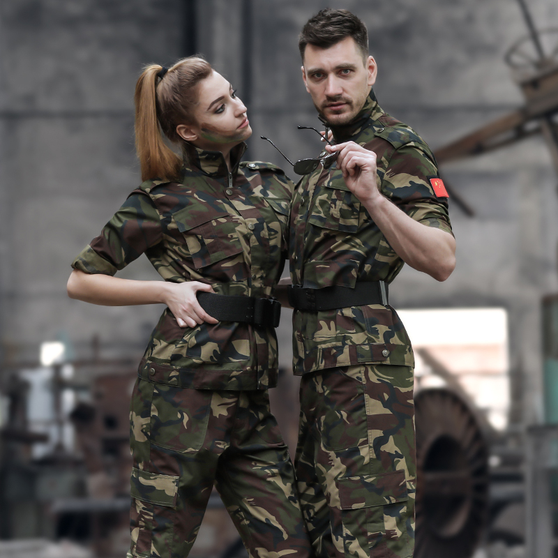 Camouflage suit male Special Forces field training uniforms military training uniforms summer wear overalls